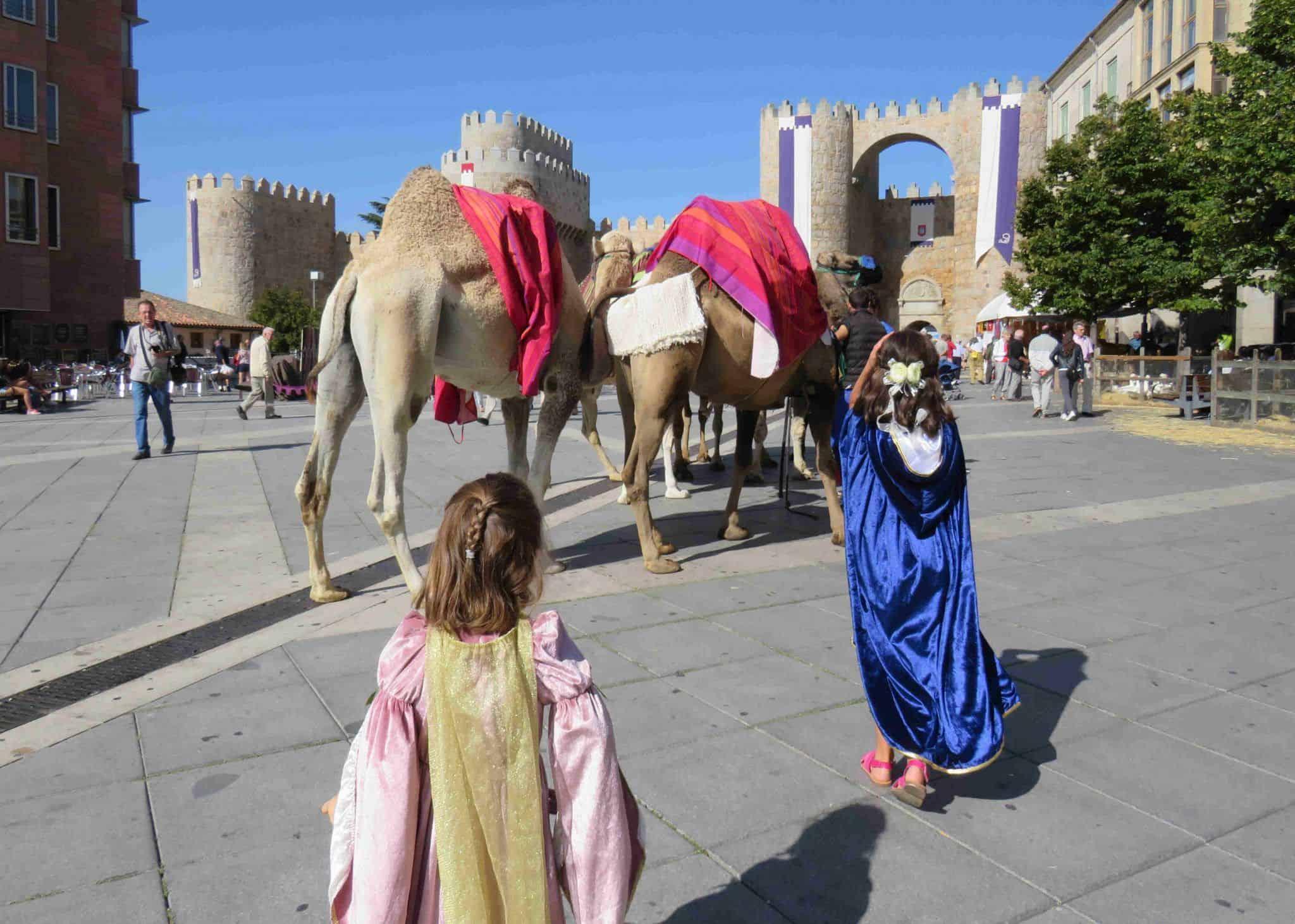 mercado medieval de Ávila 2021