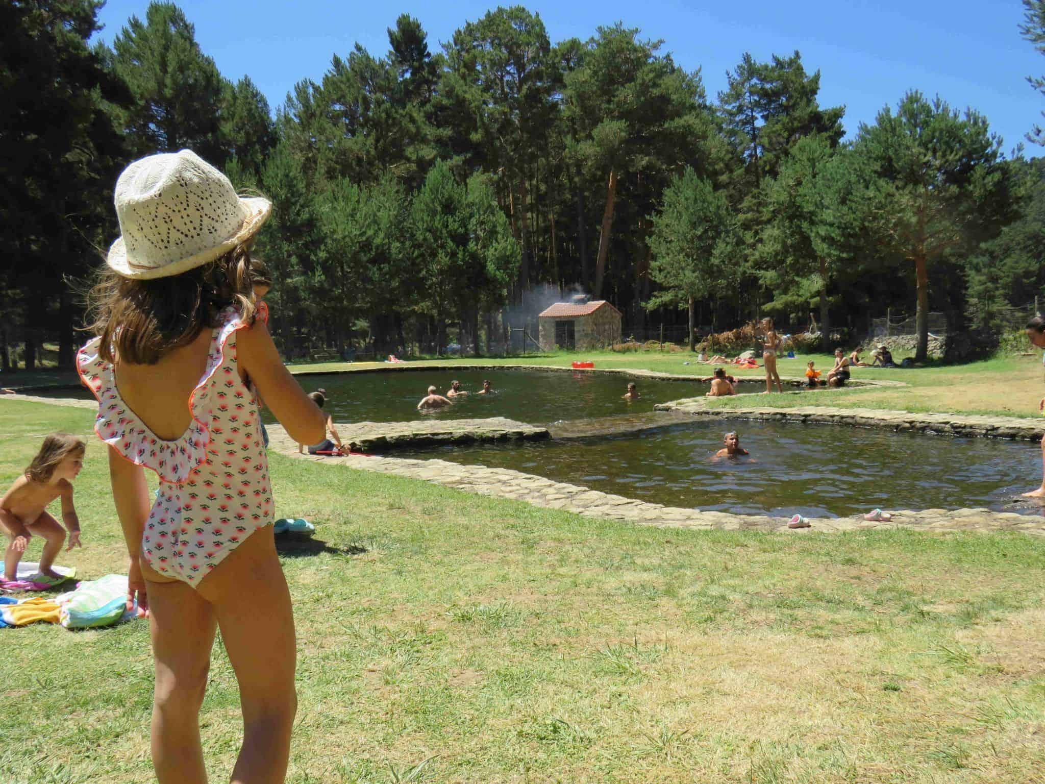 piscina en el puente del duque gredos