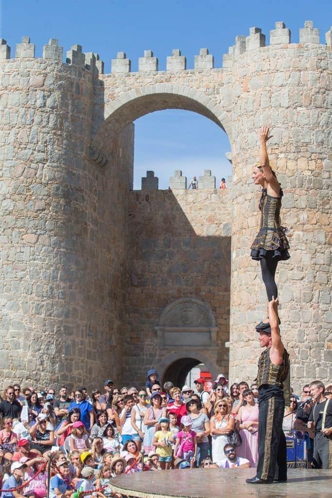 Circo en  Ávila