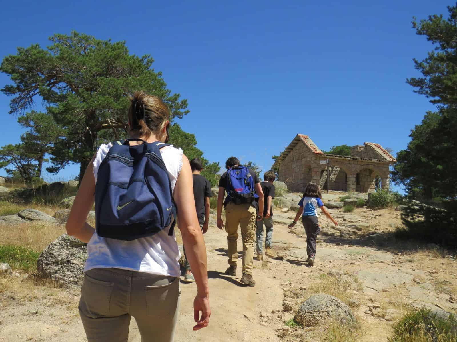 Refugio de la Naranjera en Peguerinos