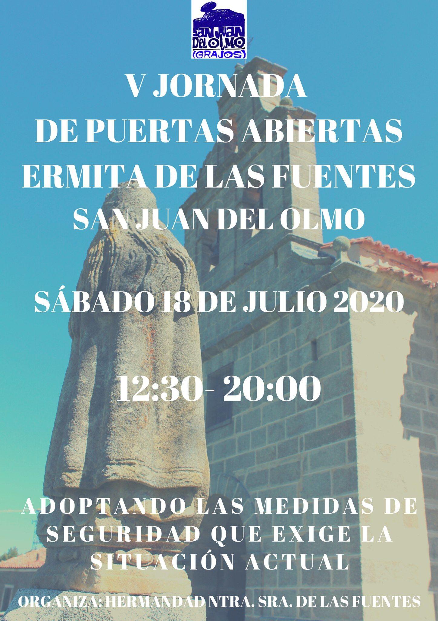 V Jornada Puertas Abiertas Ermita de las Fuentes