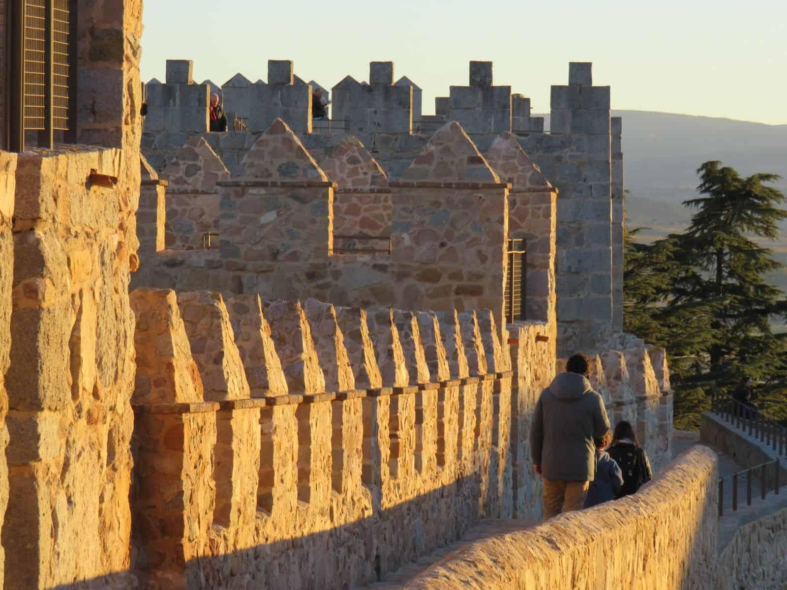 Paseo en la Muralla de Ávila