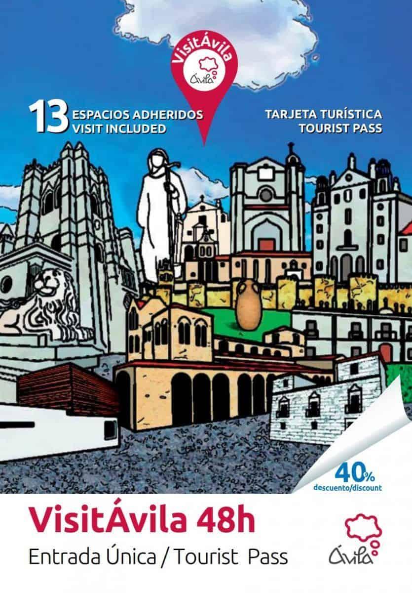 Visitar Ávila. Tarjeta turística monumentos Ávila