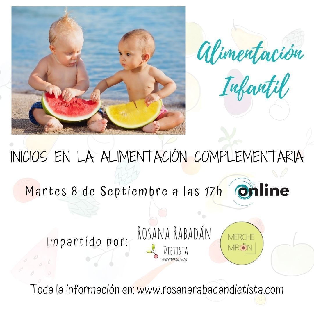 'Inicios a la alimentación infantil complementaria'