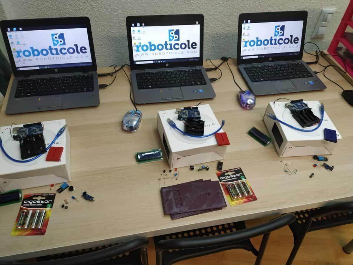 Curso 2020/21 Roboticole