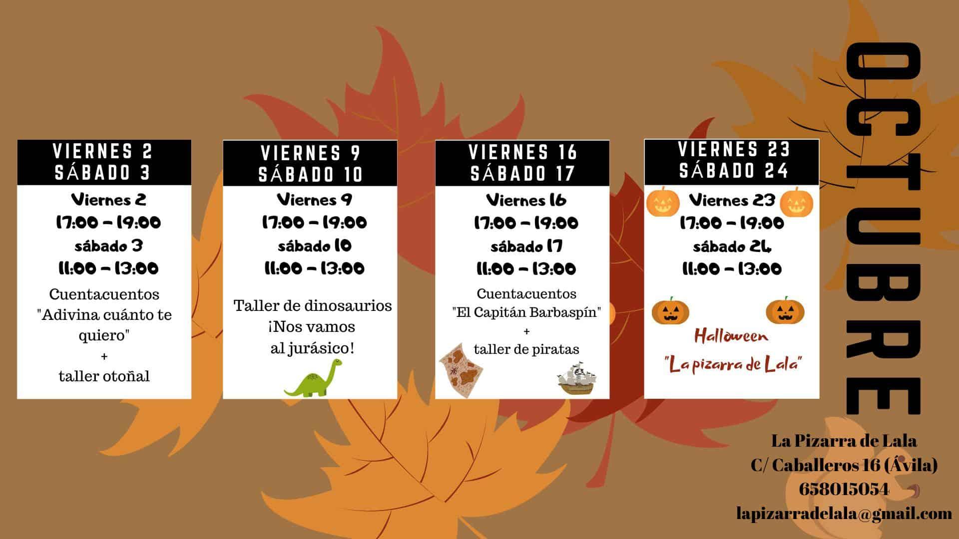 cartel octubre Lala