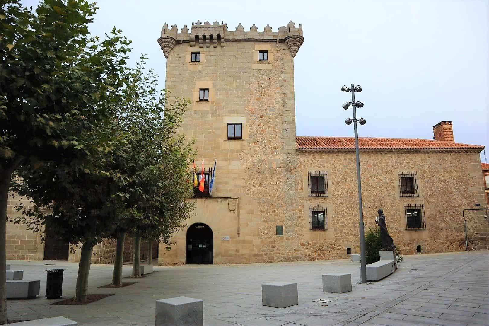 Turismo en Ávila. Torreón de los Guzmán.