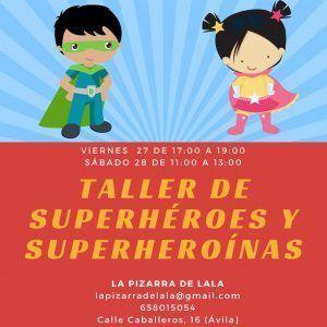 súper héroes súper heroínas