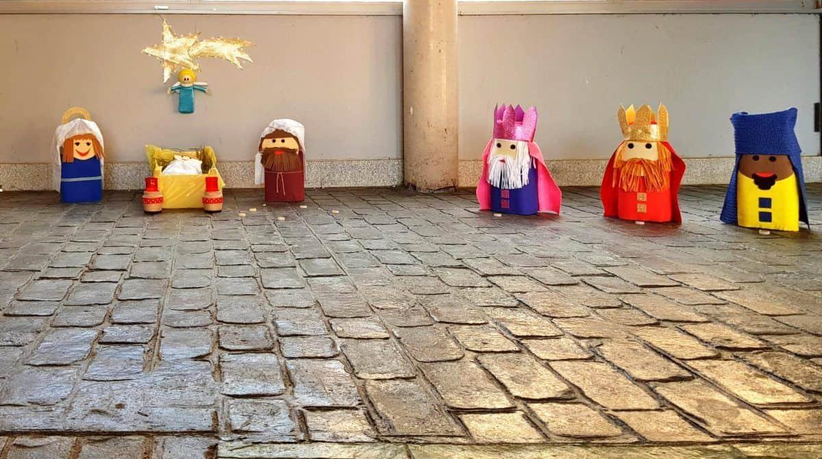 belenes del III concurso de Ávila Con Niños