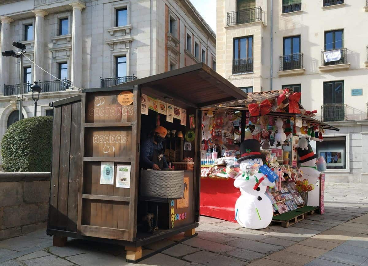 planes navideños en Ávila