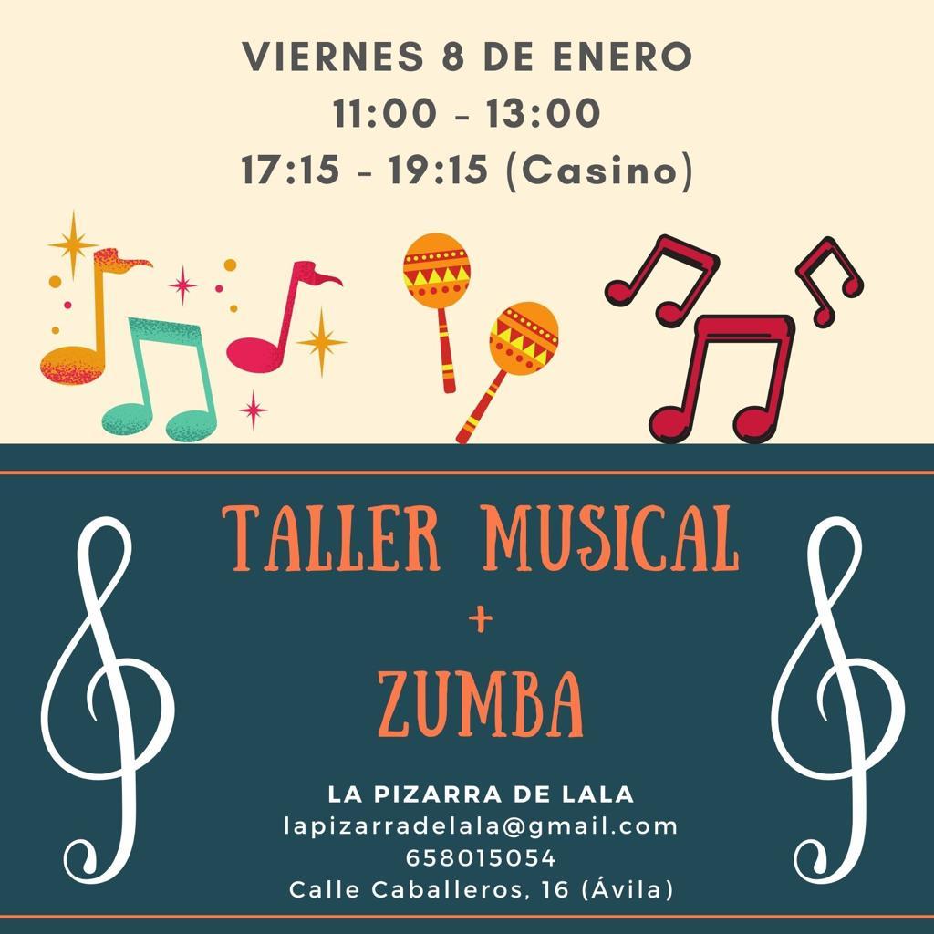 taller musical y zumba