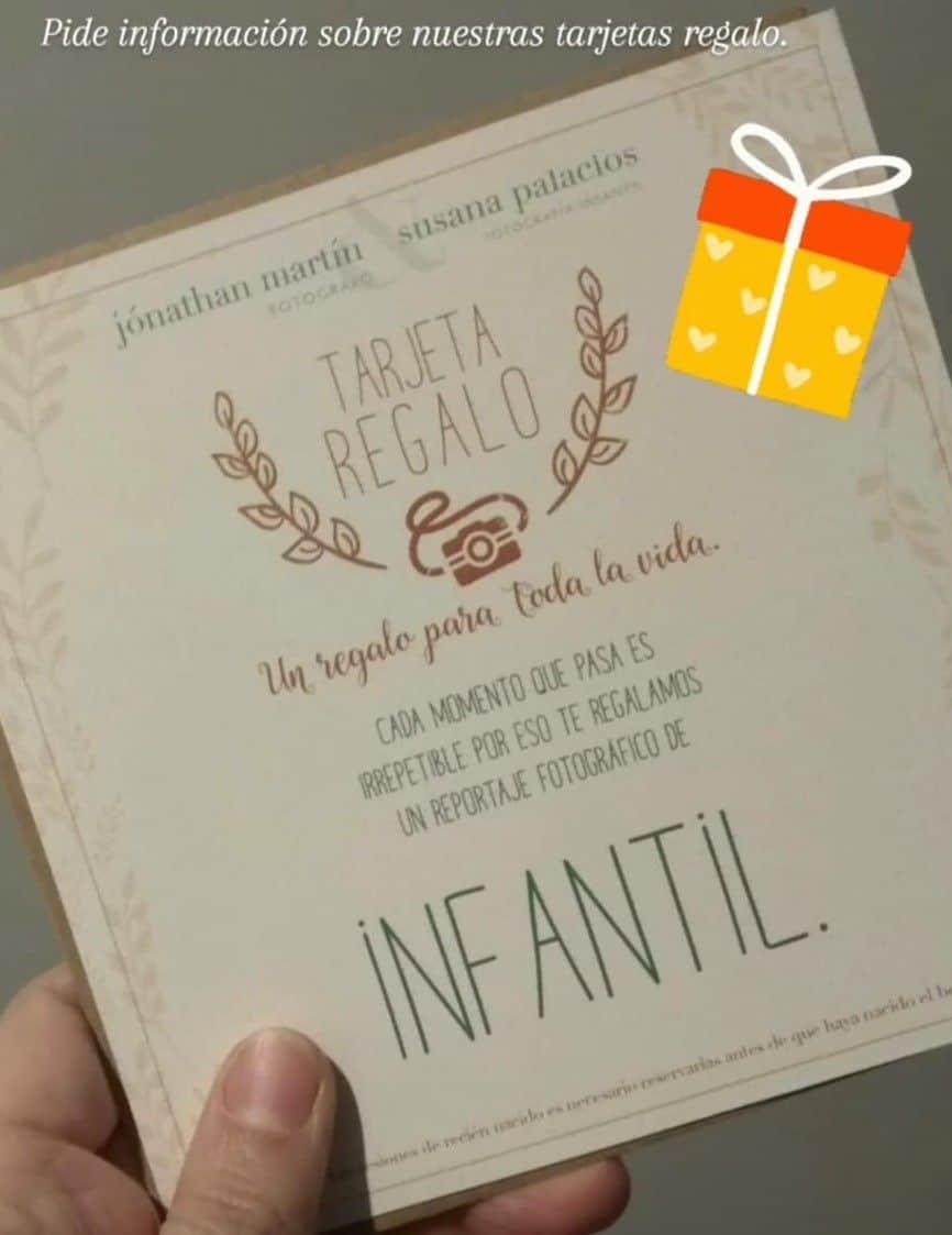 Tarjeta regalo Susana Palacios