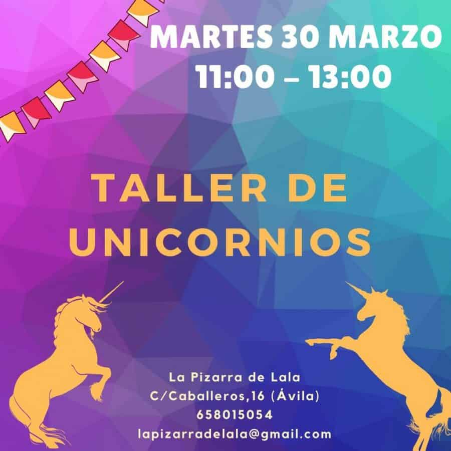 taller unicornios