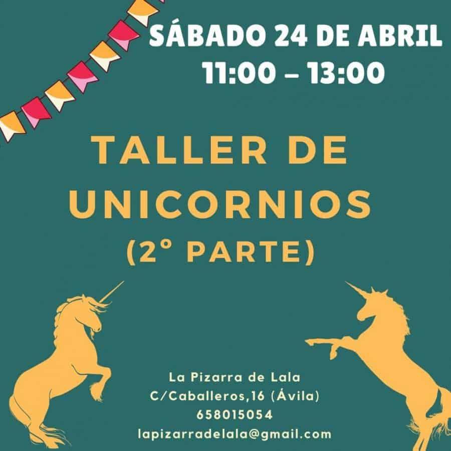 taller unicornios segunda parte