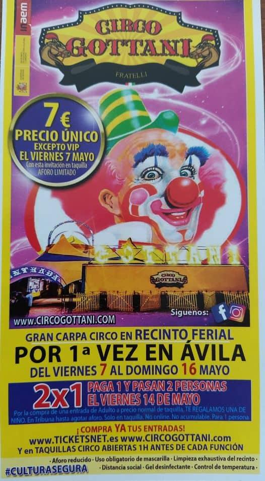 Circo Gottani en Ávila