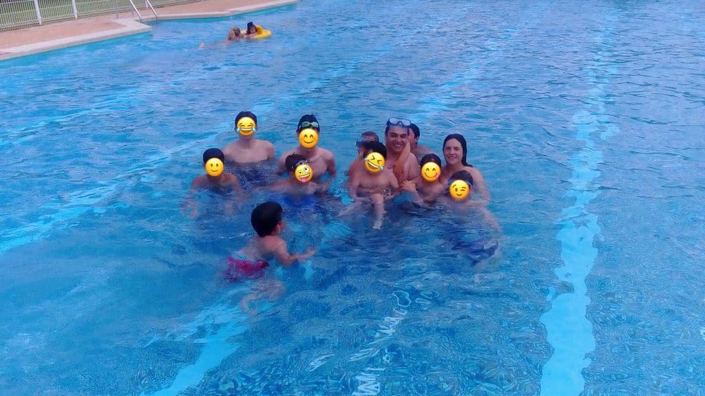 piscina mingorría