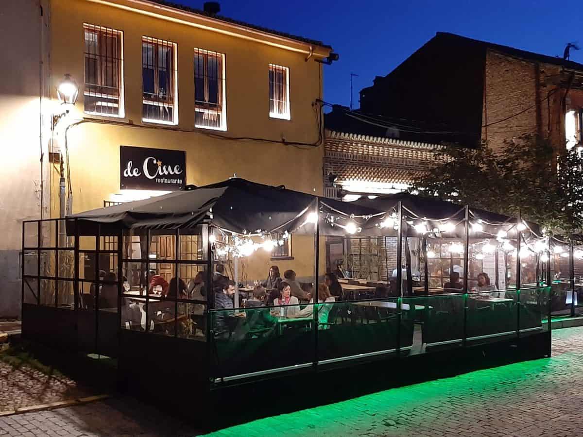 Restaurante De Cine en Ávila. Ideal para ir con niños.