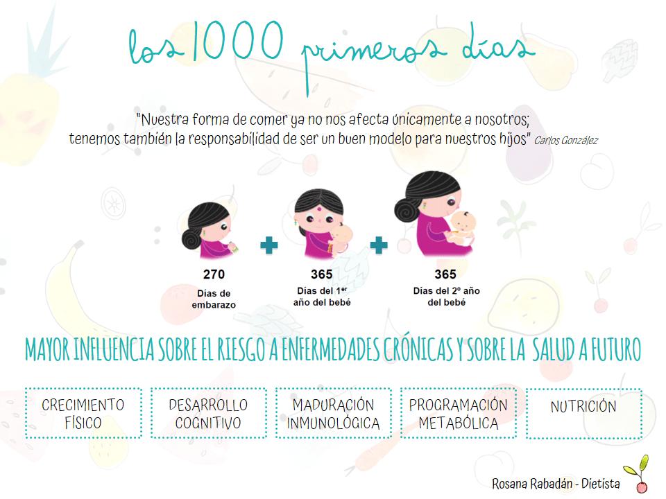 mil primeros días del bebé