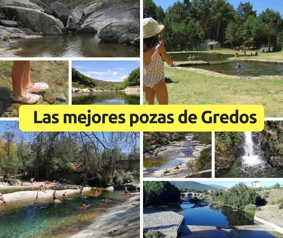 Pozas y piscinas naturales en Gredos