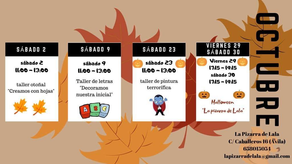 talleres octubre Lala