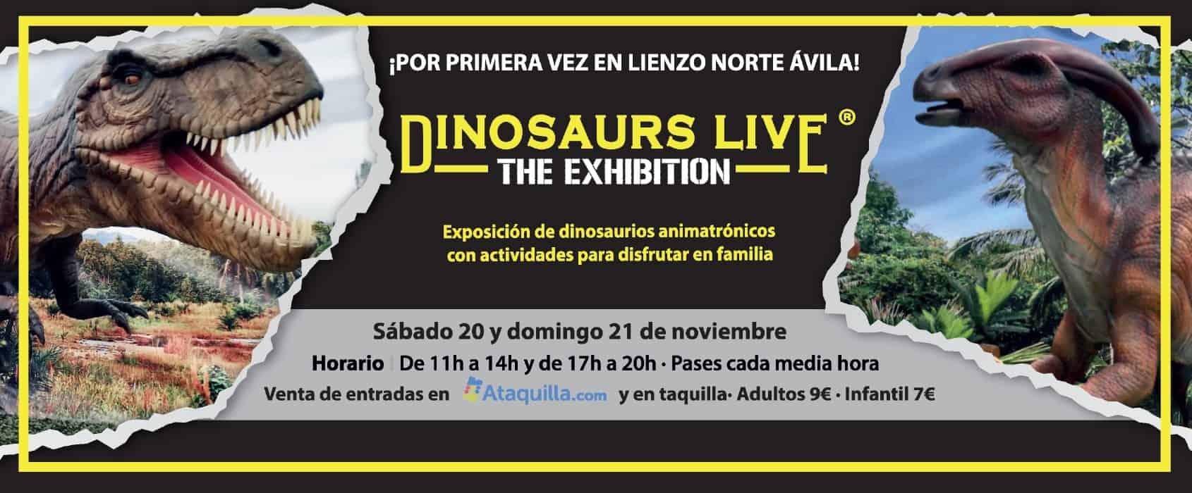 EXPO DINOSAURIOS AVILA