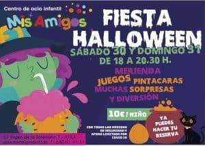 halloween en Mis Amigos